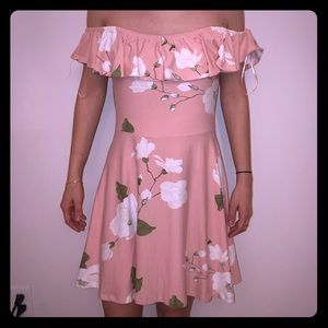 Street wear Society pink sundress brunch floral